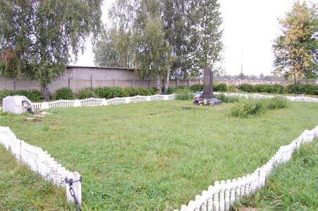 Памятник на месте расстрела евреев Орши.
