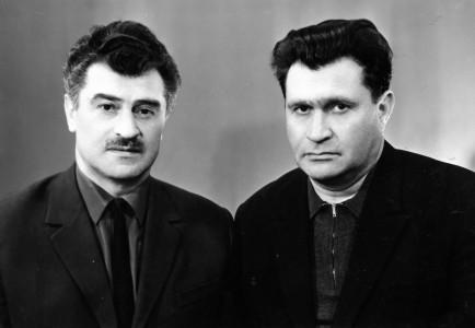 Братья Арон и Юрий Познанские.