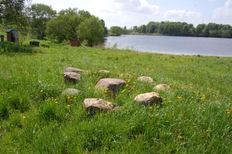 Эти камни - все что осталось от «кагальной» бани.