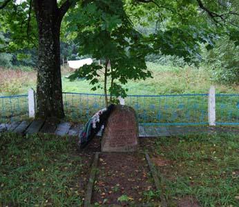 Памятник погибшим евреям Освеи.