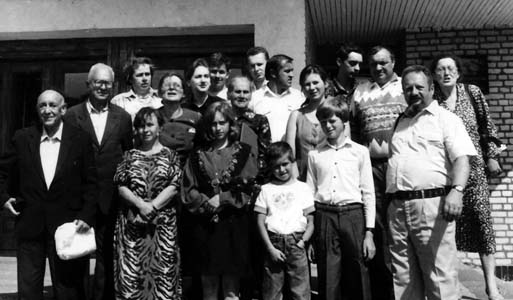 The Sosnovik family and Maria Kazachenok.