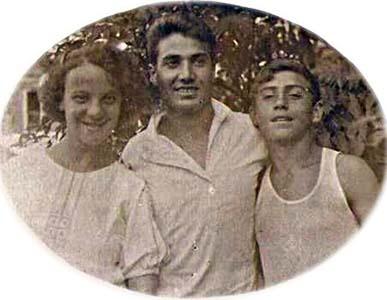 Лиза, Бенциан и Геннадий.