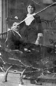 Дядя Айзик с женой, 1914 г.