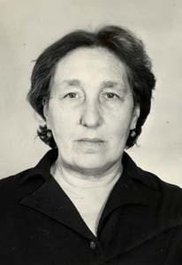 Рудницкая Серафима Менделевна.