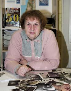 Майя Щербаковская.<br />Фото 2009 г.