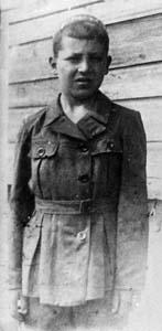Lazar Massarsky at the age of 10. Shot on November 18<sup>th</sup>, 1941.