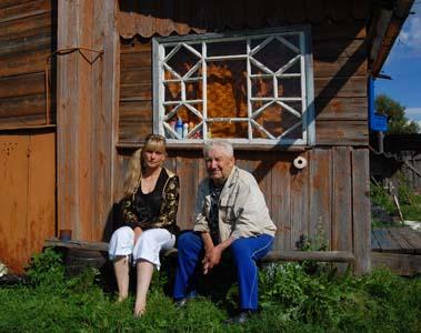 Светлана Бутарина и Петр Балденко.