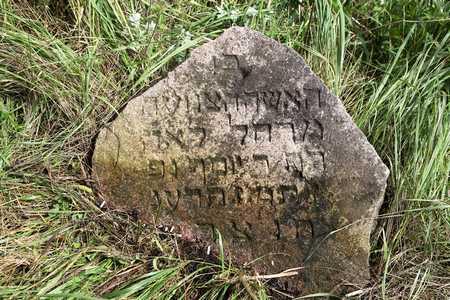 Еврейское кладбище – место расстрела мужчин.