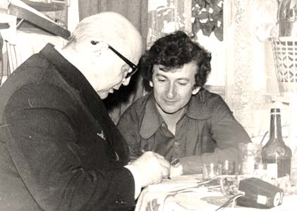 Эдуард Авербах и Вадим Козин.