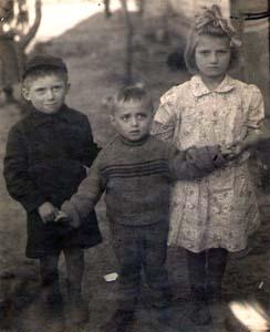 Светлана, Валерий и Вячеслав.