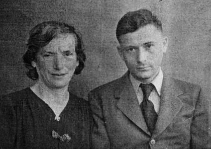 Тетя Соня с сыном Засей.