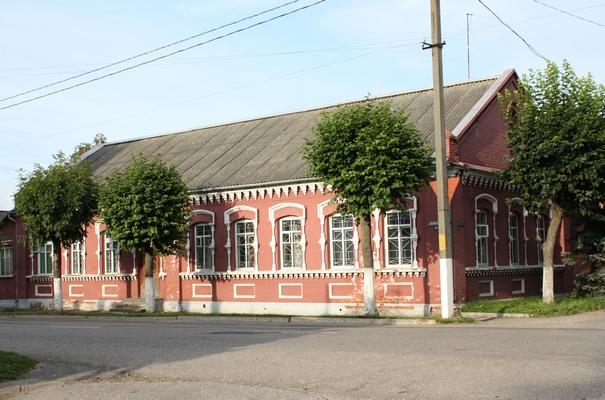 Верхнедвинск. Здание будущего музея.