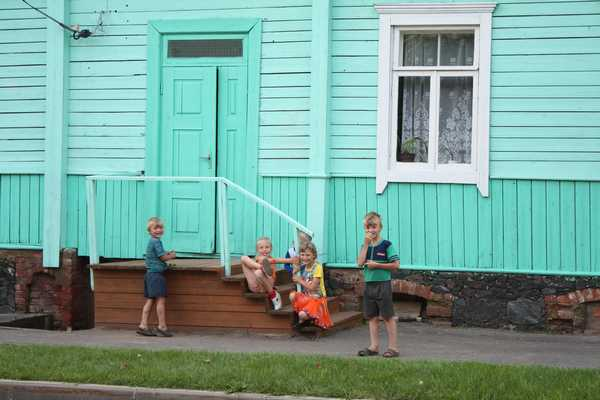 Verhnedvinsk. New generation lives in old Jewish houses.