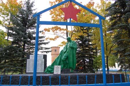 Ветрино. Памятник воинам-освободителям.
