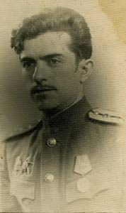 Давид Козлянский. 1945 г.