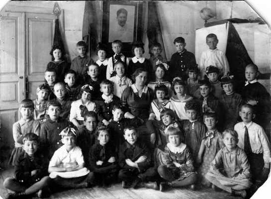 3 «б» класс 27-й СШ г. Витебска. 1939/1940 гг.