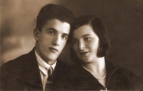 Беленький Давид Маркович и Блехман Фаина Григорьевна.