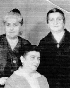Хая Генсон, сестры папы – Поля (Пешке) и Соня.