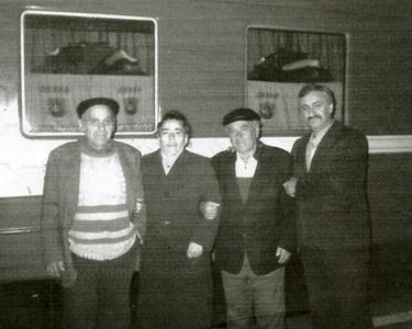 Лев Хаймович с семьей сестры.