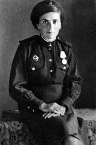Марьяся Шмуйловна. Фото 1945 г.