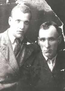 Рупин Мишича и его сын Гриша.