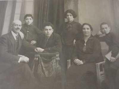 Семья Самуила (сына Шолом-Иче) Самуил, Лазарь, Михаил, Мария.