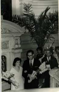 Свадьба Генриетты Медалье и Израиля Барона.