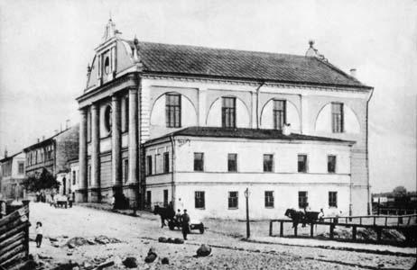 Главная Хоральная синагога на Мало-Могилевской улице.