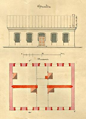 Внешний вид и планировка помещений витебской талмуд-торы.