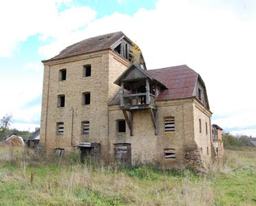 Ziabki. The old mill. Photo taken in 2009.