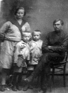 Довоенные жители местечка Бобыничи.