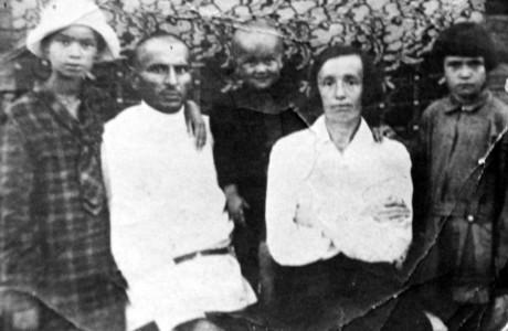 Семья Нехамчиных.