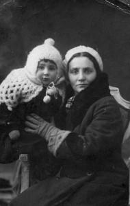 Ольга Папкова с дочерью Анной (Каган).