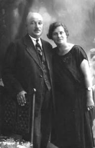 Хая-Клара и Рувим Блат. Глубокое. 1926 г.