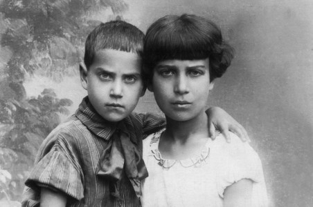 Нина и Лиза Шайкевичи.