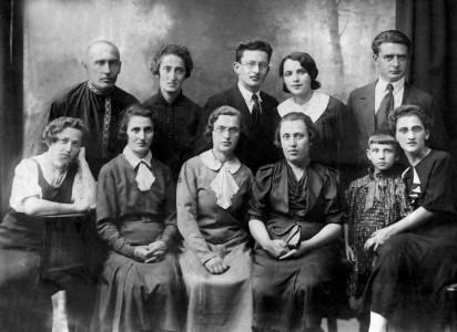 Жители местечка Колышки.
