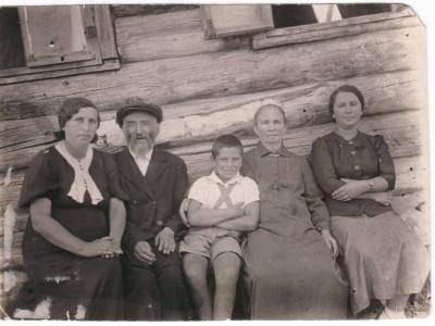 Позины-Каганы. 1937 г.