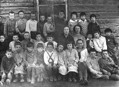 Еврейская школа. 1935 г.