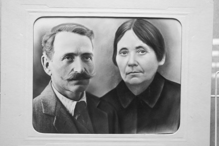 Залман Райкин и Доба Будневич.