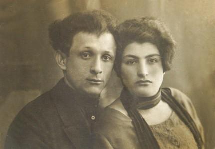 Абрам и Лея Барановы.
