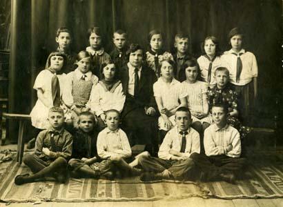 2-й класс 54-й железнодорожной школы.