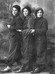 Учащиеся Витебского еврейского педагогического техникума.