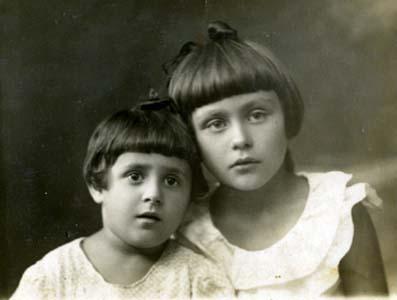 Люся и Лиля Гутковичи.