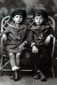 Фаня Хейфец и Феля Забежинский.