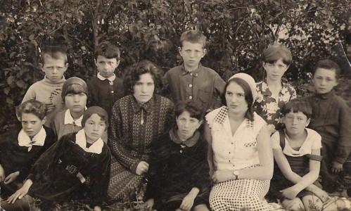 Еврейская школа. Волынцы.1934 г.