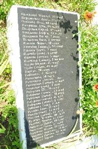 Чечерск. Место расстрела евреев