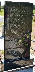 Добруш. Памятник на месте расстрела
