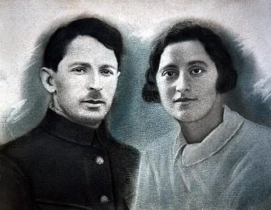 Давид Борер и Мария Гальперина