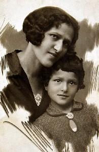 Мария Гальперина с Генриеттой