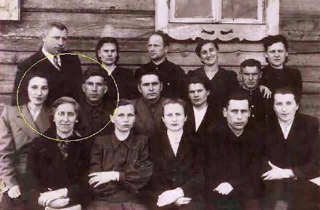Учителя дудичской СШ 1950